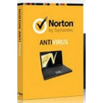 NORTON ANTIVIRUS ONE USER BOX